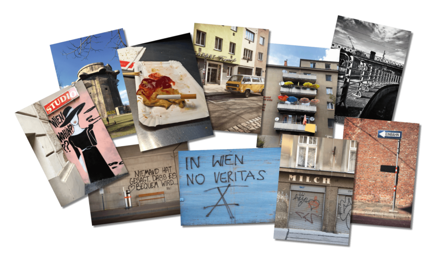 Bussi, Wien - Postkarten